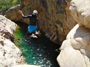 Canyoning en Corse du Sud