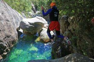 Activités de canyoning à Bavella