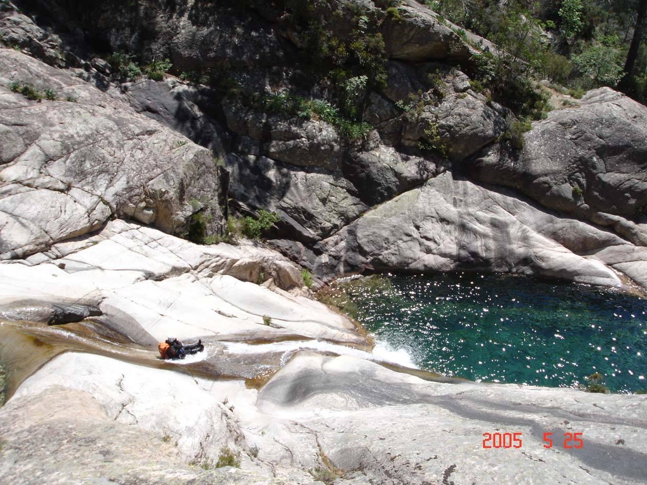 Activités de canyoning en Corse du Sud - Proche de Porto-Vecchio