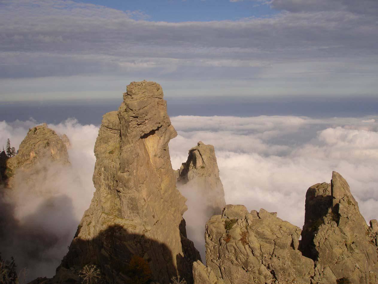 Escalade au massif Bavela