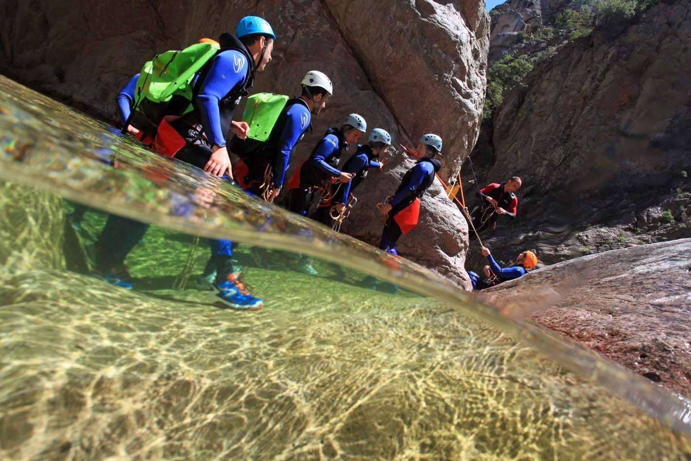Canyoning avec Xtremsud Canyon