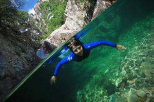 corse Canyoning