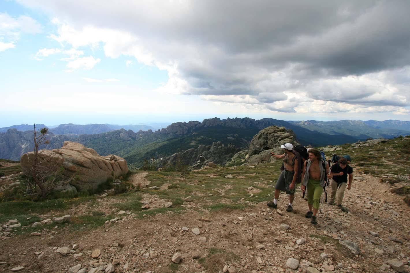 Randonnée organisée par xtremsudcanyon en Corse